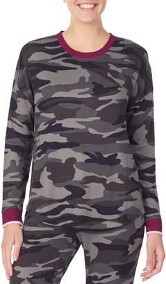 Kensie Hide Sleep Printed Pyjama Top