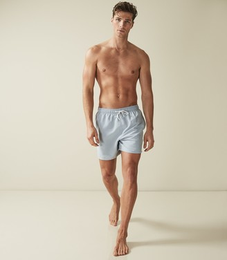 Reiss SONAR DRAWSTRING SWIM SHORTS Soft Blue