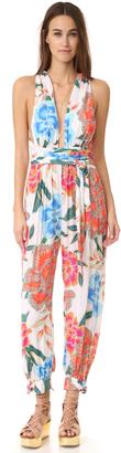 Mara Hoffman Crinkle Crepe Jumpsuit $325 thestylecure.com