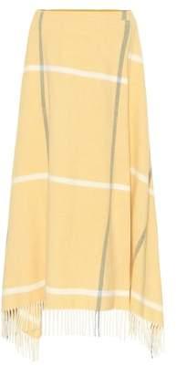Roksanda Moon Blanket wool midi-skirt