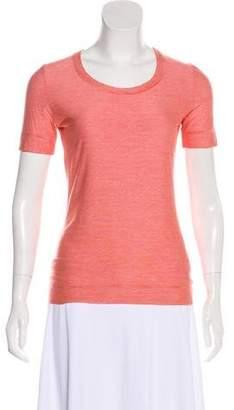 Akris Punto Striped Short Sleeve T-Shirt