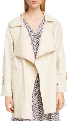 Isabel Marant Short Coated Trench Coat