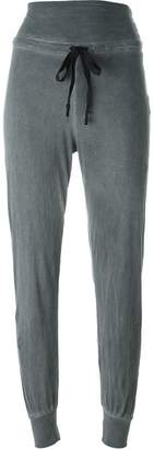 Lost & Found Ria Dunn contrast drawstring cuffed track pants