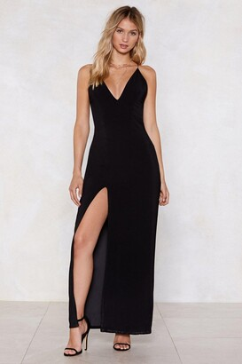 Nasty Gal Soul Deep Satin Dress