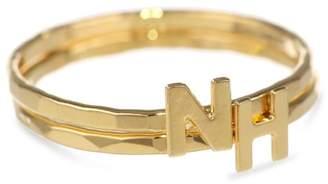 Kris Nations New Hampshire Abbreviation Stackable Ring