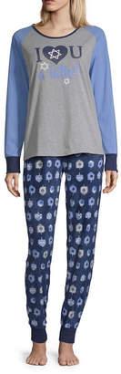 HOLIDAY #FAMJAMS Holiday #FAMJAMS Hannakah 2 Piece Pajama Set -Women's