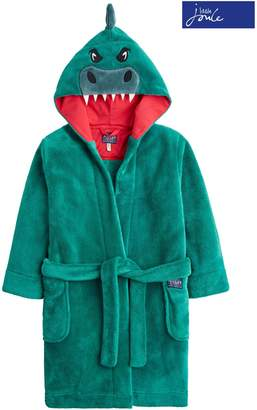 Next Boys Joules Herb Green Dino Character Dressing Gown