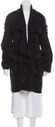 Burberry Wool Blend Woven Jacket