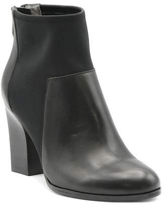Adrienne Vittadini Ratti Stacked Block Heel Bootie