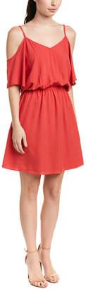 Splendid Cold-Shoulder Shift Dress