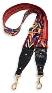 Valentino Native Couture Embroidered Guitar Handbag Strap
