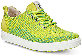 ECCO Women's Casual Hybrid Knit Golf Shoes $160 thestylecure.com