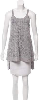 Just Cavalli Textured Wool Top