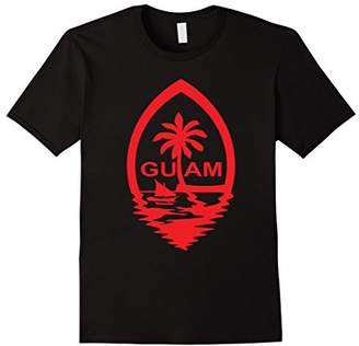Guam Seal Red Shimmer T Shirt