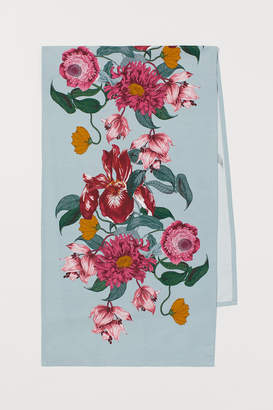 H&M Patterned Cotton Table Runner