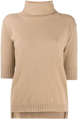 Malo cashmere roll neck top