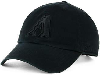 '47 Arizona Diamondbacks Black on Black Clean Up Cap