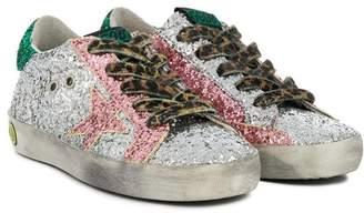 Golden Goose Kids sequin Star sneakers