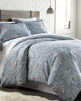 South Shore Linens Pure Melody Classic Paisley Printed Comforter Set