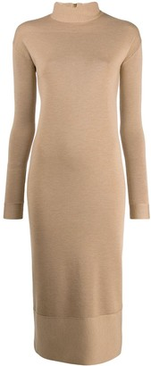 Agnona fitted sweater dress