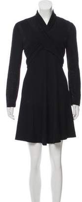 Max Mara Crepe Knit Dress