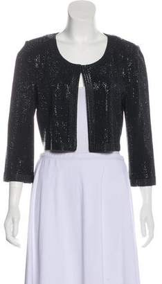 St. John Sequin Long Sleeve Jacket