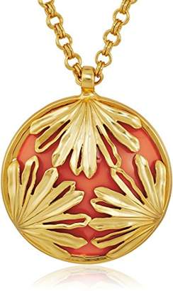 Trina Turk Palm Leaf Pendant Necklace