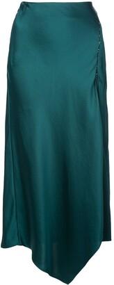 Jonathan Simkhai asymmetric midi skirt