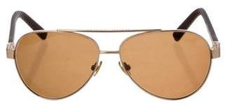 David Yurman Tinted Aviator Sunglasses