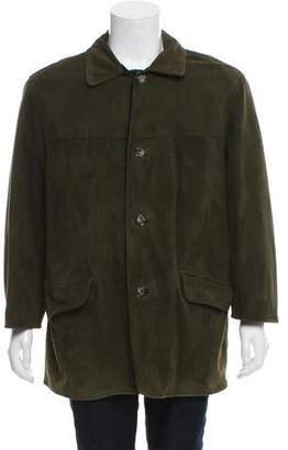 Loro Piana Suede Car Coat