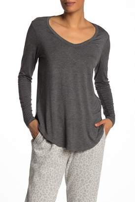 Cotton On & Co. Karly Heathered V-Neck Long Sleeve Tee