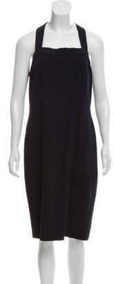 Chanel Midi Dress Navy Midi Dress