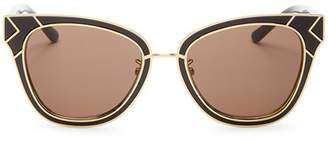 Tory Burch Women's Square Sunglasses, 53mm