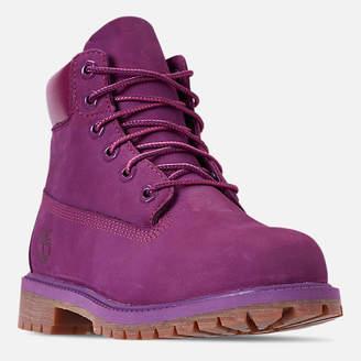 Timberland Girls' Big Kids' 6 Inch Premium Boots
