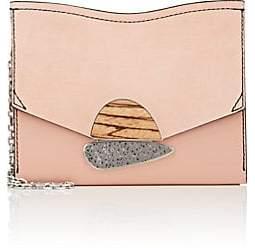 Proenza Schouler Women's Curl Small Leather Clutch - Peach