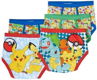 Pokemon Kohl's Boys 4-8 5-Pack Briefs