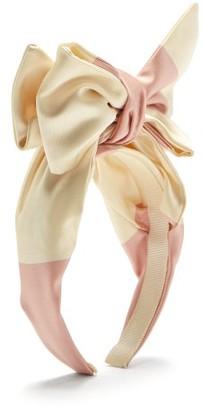 Benoit Missolin Eugenie Bow Headband - Womens - Pink