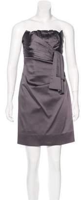 Phoebe Couture Satin Mini Dress