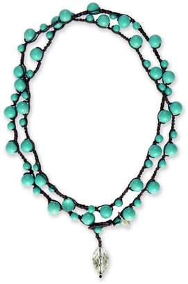 on u Turquoise Michelle Necklace