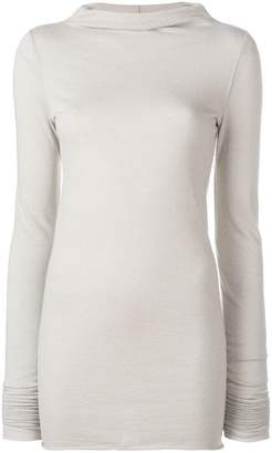 Rick Owens Lilies high boat neck sweater