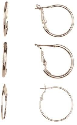Joe Fresh Hoop Earring Set - Set of 3