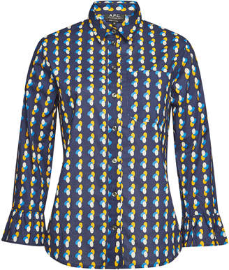 A.P.C. Cotton Printed Jules Shirt