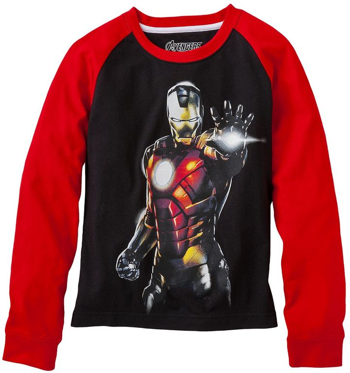 Iron Man Marvel avengers tee - boys 4-7
