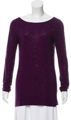Alice + Olivia Embellished Long Sleeve Sweater