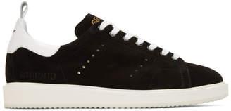 Golden Goose Black Starter Sneakers