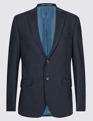 Marks and Spencer Navy Slim Fit Jacket