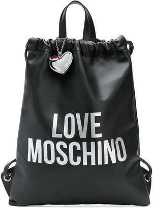 Love Moschino Love drawstring backpack