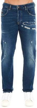 Diesel D-Blazer Distressed Jeans