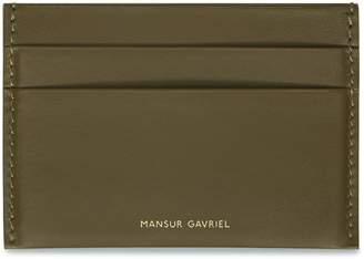 Mansur Gavriel Calf Credit Card Holder
