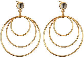Genevive 14K Over Silver Earrings
